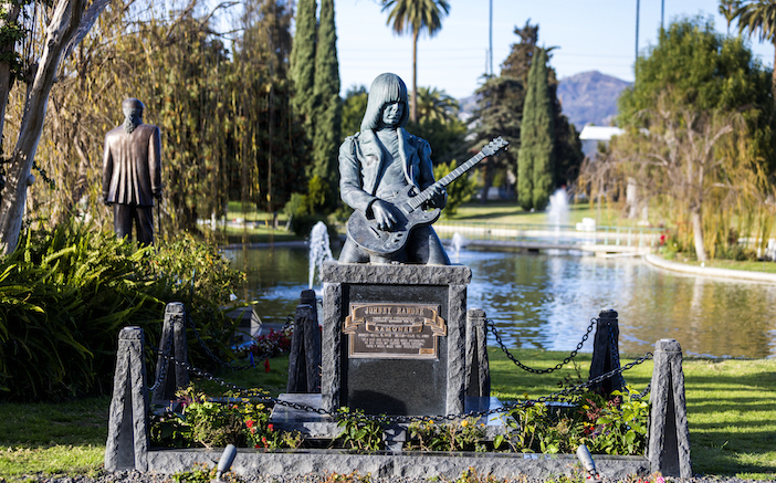 Photo courtesy of Hollywood Forever Cemetery