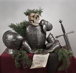 """Knights in Armor"" - Natura Morta Arrangement by Frederick Stibbert © Archivio Fotografico Museo Stibbert"