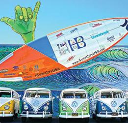 Kowabunga Van Clan of Huntington Beach Car Show