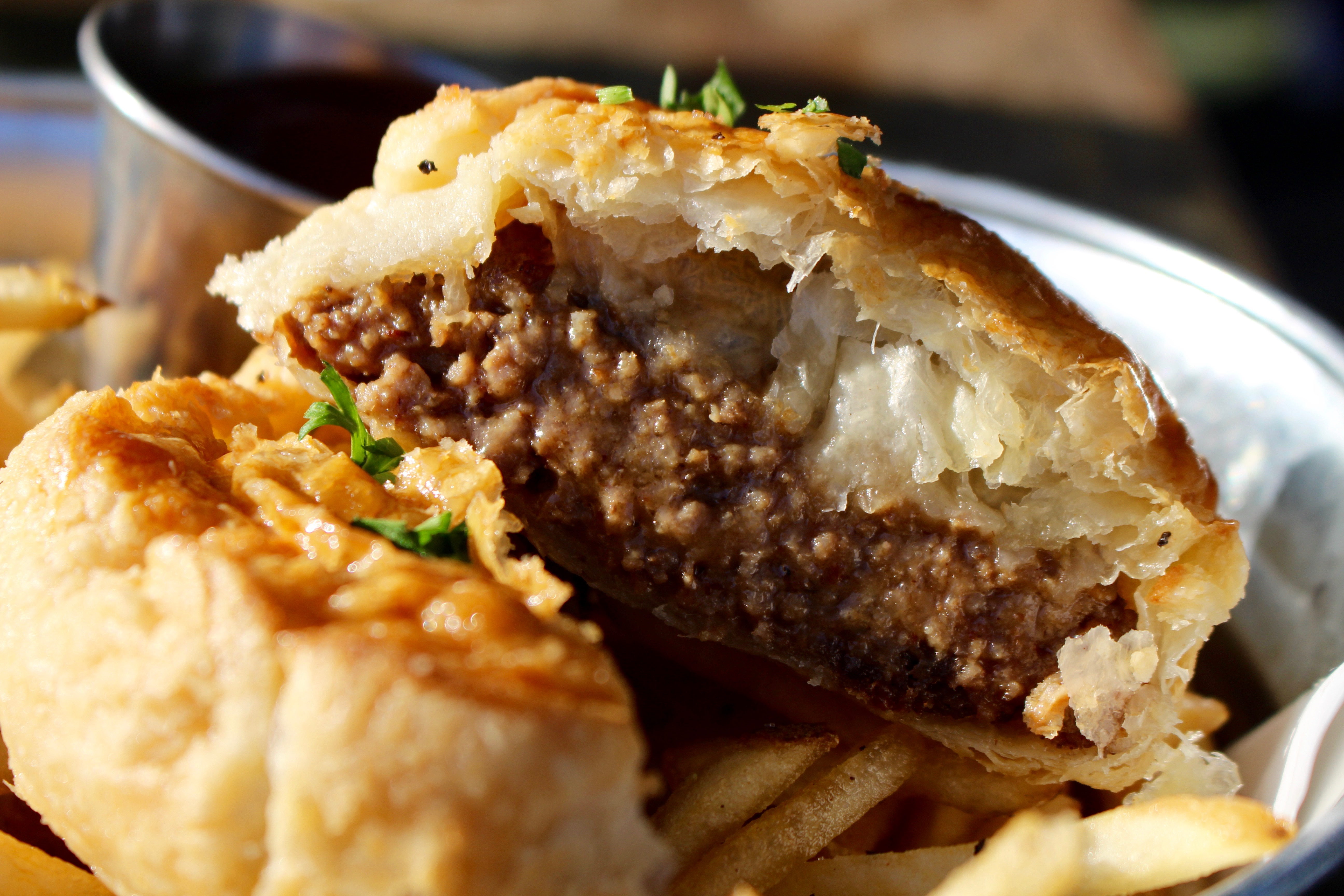 The New Zealand Meat Pie is one of the many offerings found on Dunedin's new menu.