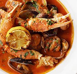 Seafood Sunday at Brunos Italian Kitchen photo courtesy of Ajenda PR