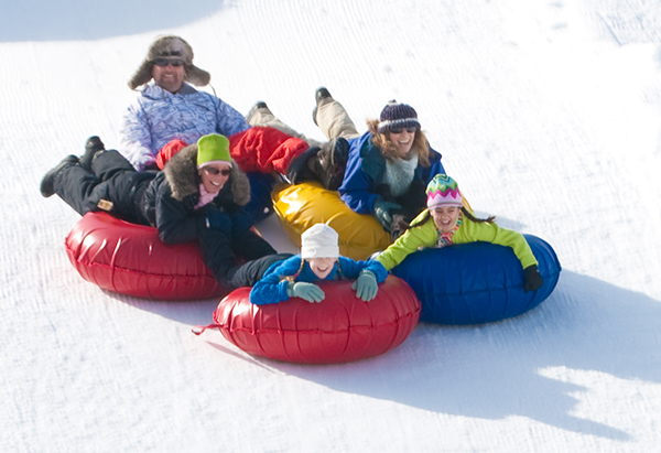 SnowTubing Big Bear