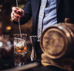 Progressive Whiskey Dinner at CUT by Wolfgang Puck