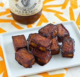 Baked Barbecue Tofu photo by Oh My Veggies
