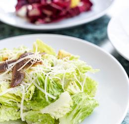 Caesar salad photo courtesy Cafe Zoetrope
