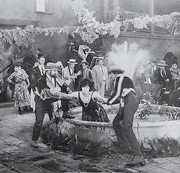 "Still image from ""Mud and Sand (1922)"" photo courtesy Catalina Island Museum"