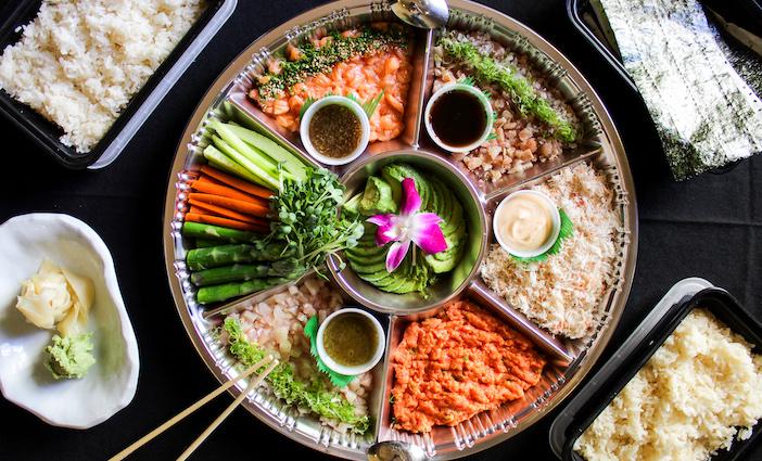 Sushi Roku courtesy Saucy Creative