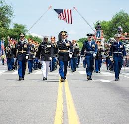 The National Memorial Day Parade photo courtesy American Veterans Center via Facebook