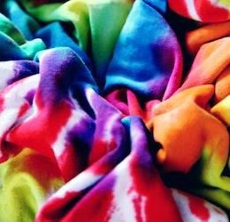 Tie-Dye photo courtesy Sharon McCutcheon via Unsplash