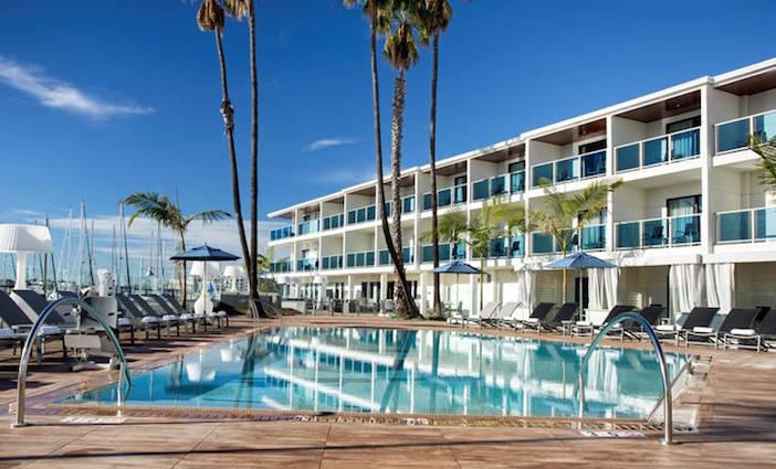 End of Summer Luau at Marina del Rey Hotel