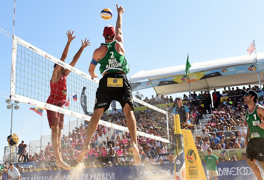 Photo courtesy of World Series of Beach Volleyball
