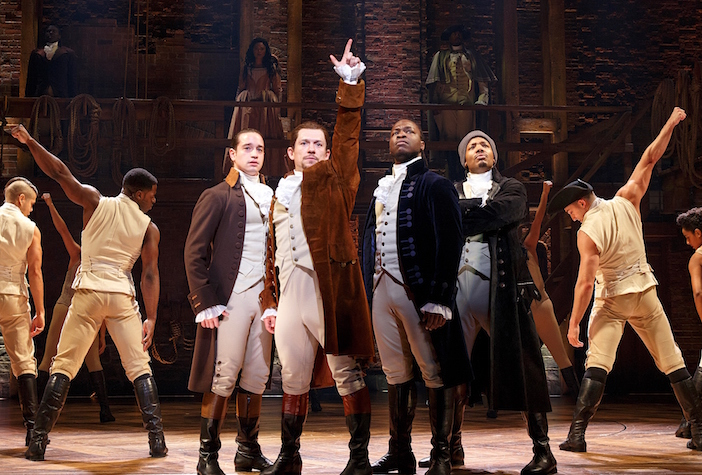 Hamilton photo courtesy of Hollywood Pantages, Photo by Joan Marcus | Los Angeles things to do in August