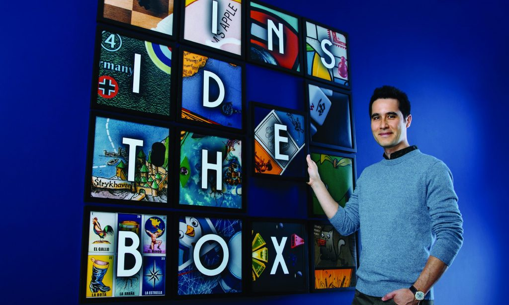 "David Kwong in ""Inside the Box"" at Geffen Playhouse through February 14"