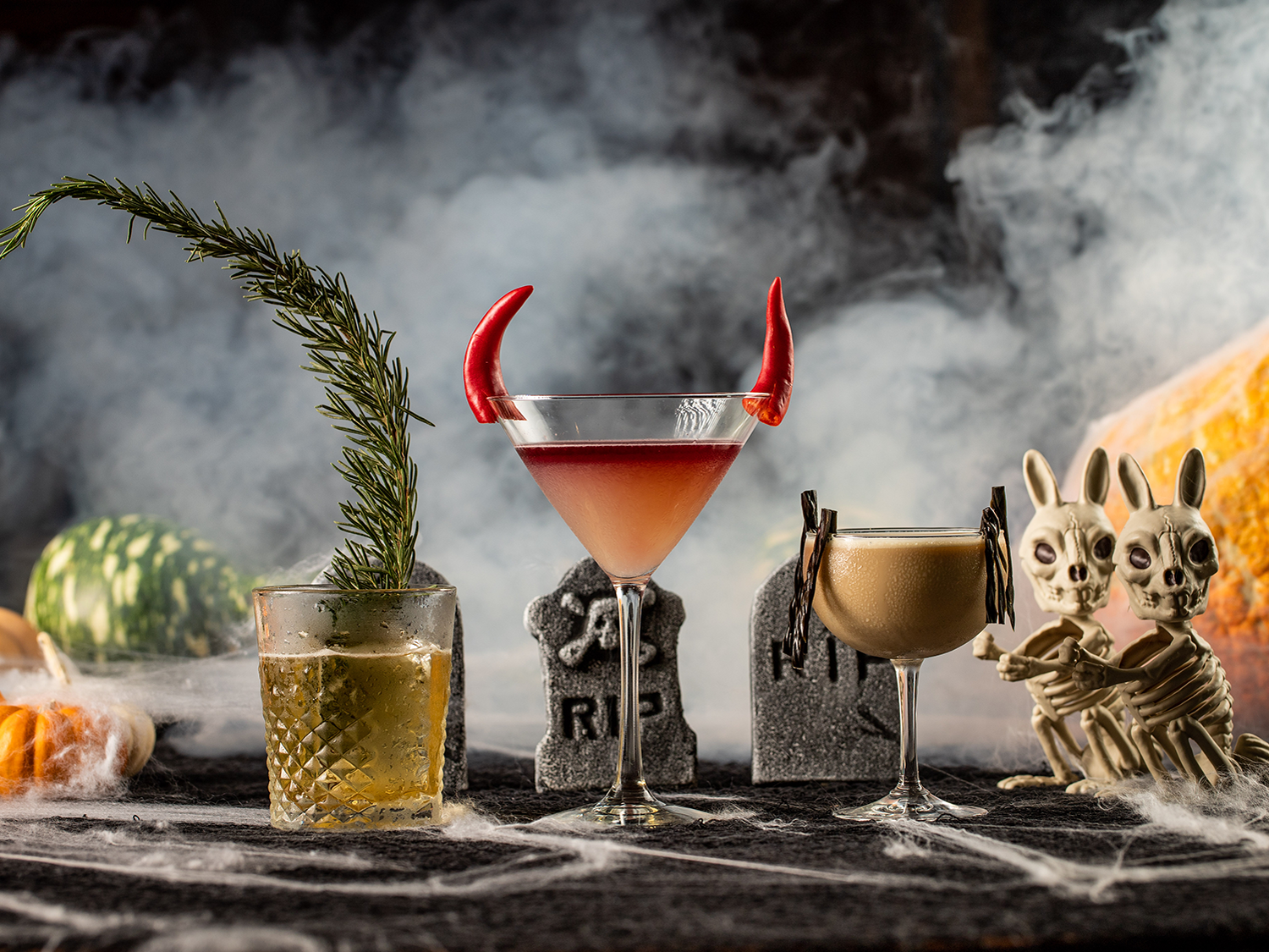 Halloween cocktails at Conservatory West Hollywood (photo by Max Milla)