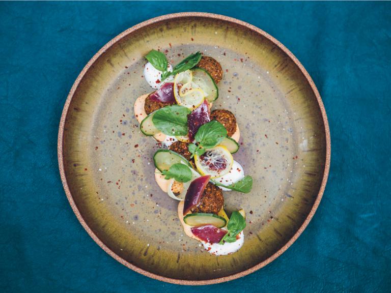 Falafel from Otium photo by Sierra Prescott