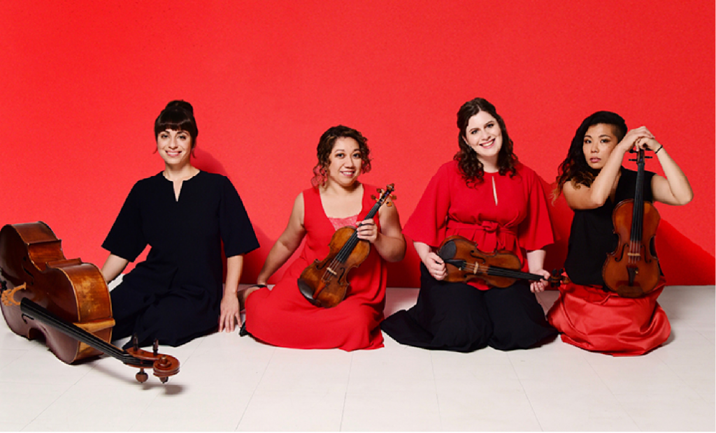 Aizuri Quartet in Seven Limbs at CAP UCLA, February 12
