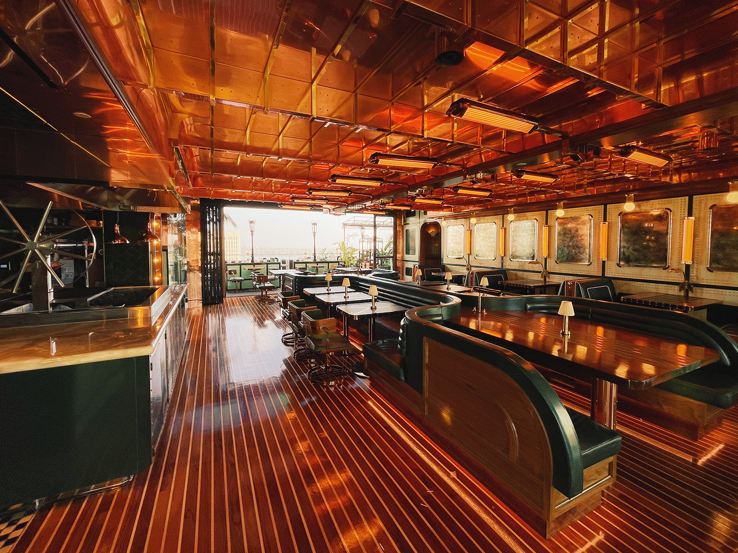 Interior shot of CH Projects' newest restaurant Seneca photo courtesy CH Projects