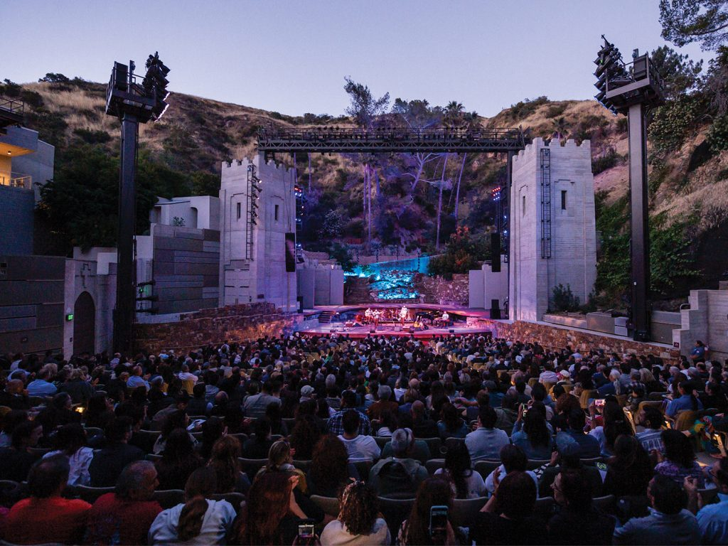 The Ford outdoor amphitheater photo by Timothy Norris