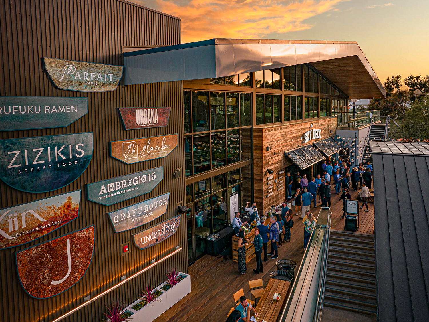 The Sky Deck at Del Mar Highlands Town Center photo courtesy Del Mar Highlands Town Center