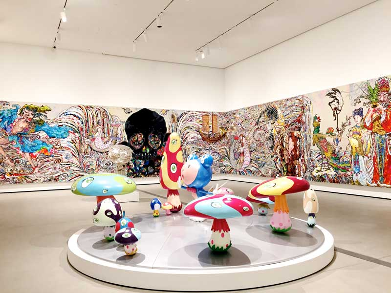82-foot-long painting by Takashi Murakami
